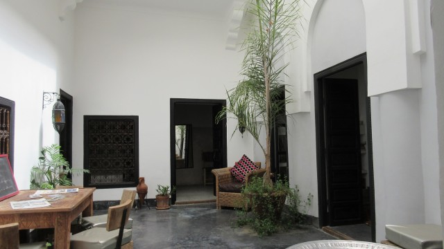 Dans la médina de Marrakech, riad de 5 chambres à quelques minutes de la place Jamaâ El Fna