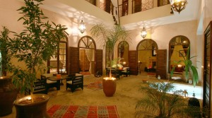 Beautiful riad offering two patios, two pools, hammam, everything to work well