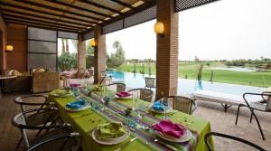 Villa en première ligne sur le golf d'Amelkis