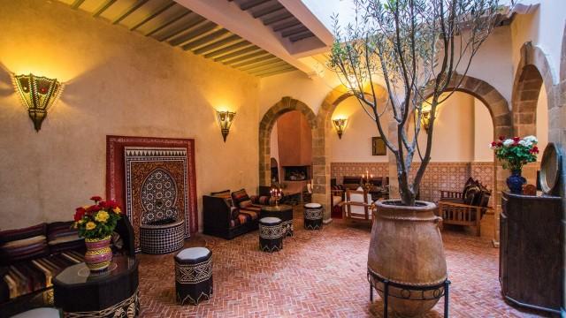 Maison d'hôtes dans la médina d'Essaouira, 6 chambres, belle terrasse avec jacuzzi, à quelques pas de l'esplanade