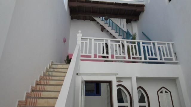 Riad de 3 chambres dans la médina d'Essaouira. Très belle vue terrasse sur le port et l'océan