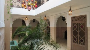 190 sqm habitable, here is a charming riad with parking 150 meters from the door