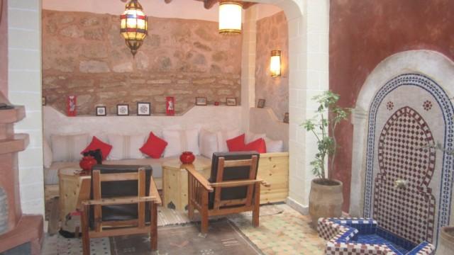 Magnifique riad pied à terre de 3 chambres, dans la médina d'Essaouira. Idéal pour passer des moments en famille ou entre amis au bord de la mer