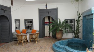 Nice little riad with pool. Ideal to spend a wonderful time in the medina