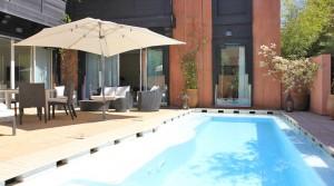 Riad dans un complexe hôtelier. Remarquables prestations et bon rendement locatif