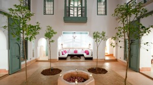 Sober, clean, beautiful riad or space is preferred. excellent district with 2 parkings
