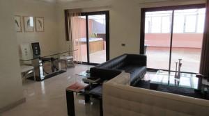 Beau standing, superbe appartement avec deux chambres, grande terrasse avec jacuzzi, emplacement idéal