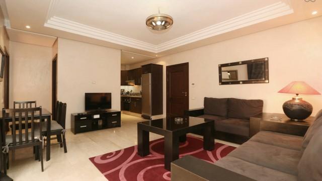 Appartement dans le quartier du Gueliz, dans une belle résidence, proche des commodités