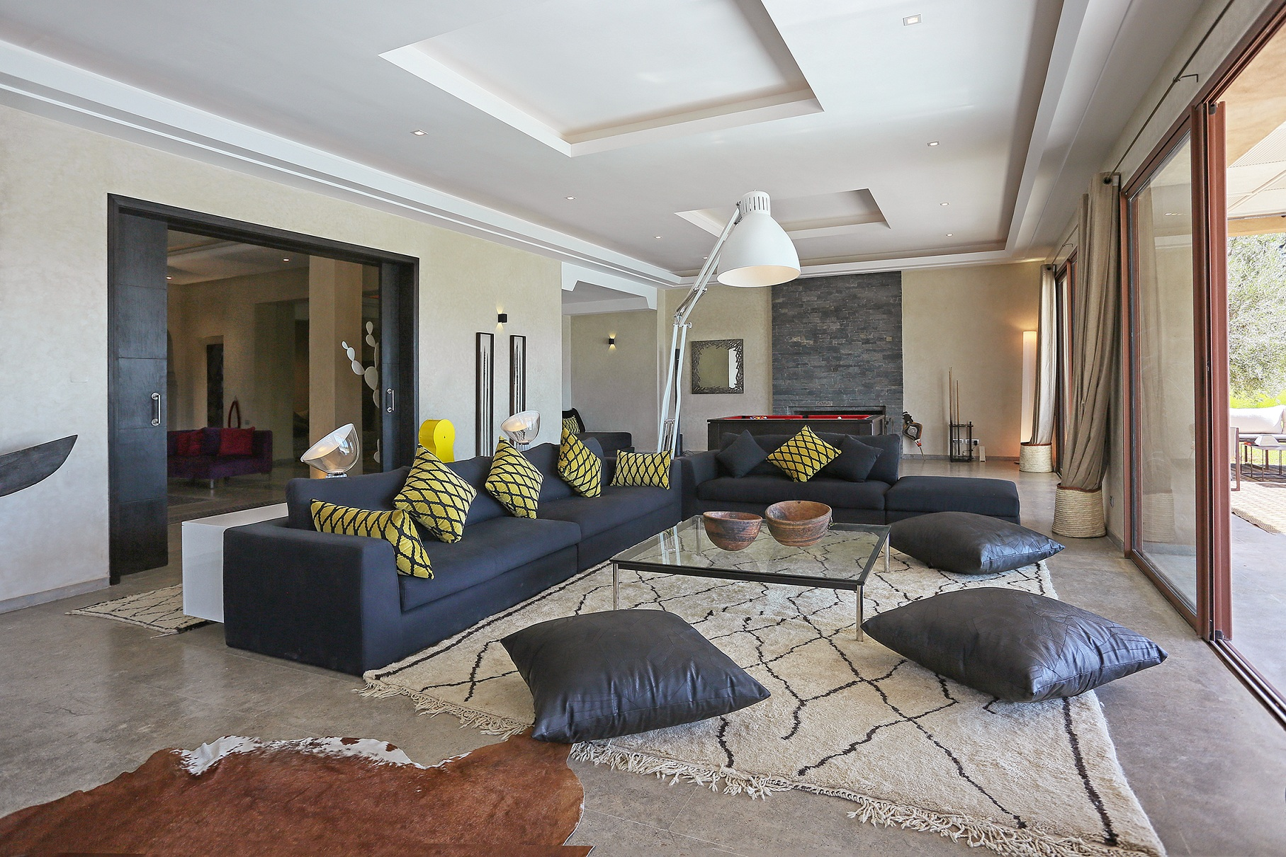 Luxueuse villa contemporaine. Magnifiques espaces, confort de haut ...