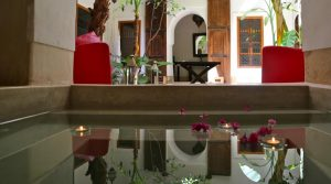 Sober, clean, authentic riad in operation. True place of healing