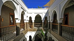 Sumptuous riad. Luxury, refinement, what about this establishment, just excellence, including the neighborhood and access