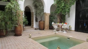 Jemaa El Fna and the souk nearby, beautiful authentic Riad offering 10 years of experience