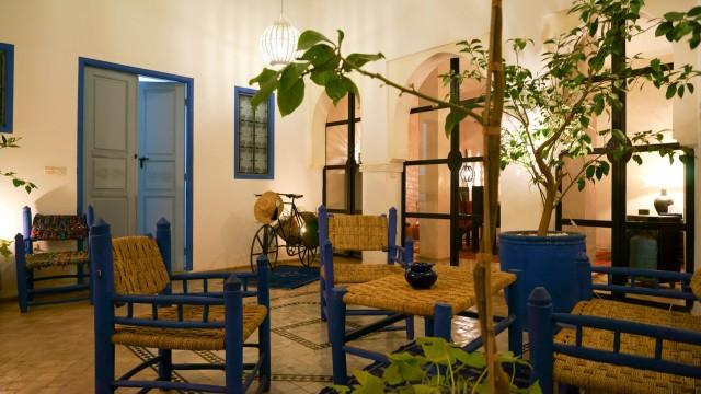 Riad avec classement maison d'hôtes, 5 chambres, belle terrasse, dans un bon quartier