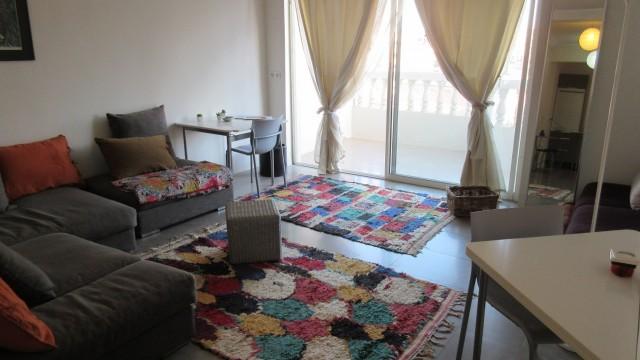 Appartement composé d'une chambre, cuisine Américaine, belle terrasse, en plein centre-ville
