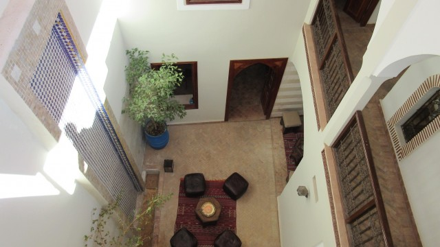 Petit riad pied à terre de 3 chambres, situé à quelques minutes de la place Jamaâ El Fna