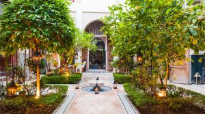 Exceptional riad. Real palace consists of three patios, pool and hammam