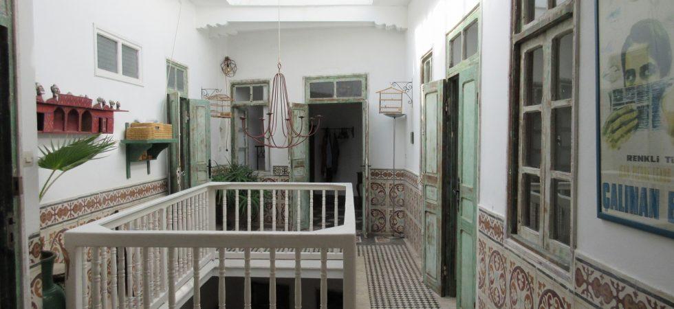 Authentique riad dans la médina d'Essaouira, 5 chambres et vue sur l'océan