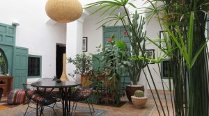 Authentique riad, bassin, hammam, splendide terrasse dans un excellent quartier