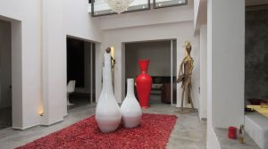 Contemporary riad of 3 bedrooms and beautiful terrace with jacuzzi
