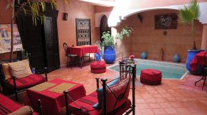 Charming riad 5 bedrooms with pool, located in an excellent district