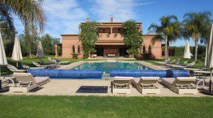 Magnifique villa dans un domaine privé de 6 propriétés avec vue panoramique sur l'Atlas