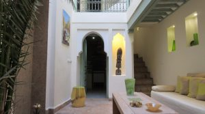 Exceptional small riad 5 minutes from the square, parking nearby and good rental yield