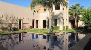 Villa sur le golf d'Amelkis avec chauffage central