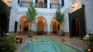 Magnificent riad beldi, charm and sobriety being its lord words
