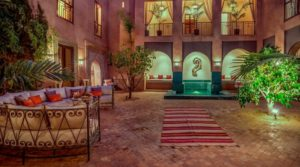 Luxurious riad with exceptional volumes