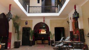 Charmante maison d'hôtes située à proximité des lieux incontournables à visiter dans la médina