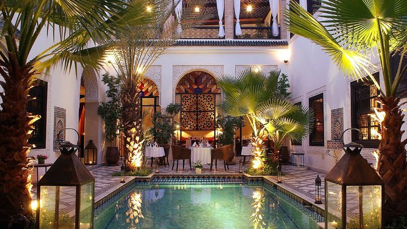 Luxurious riad Charming hotel with an independent loft near the Jamaâ El Fna square