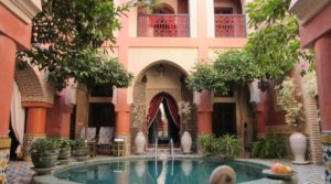 Authentic, remarkable private riad, located 300 meters from the Jamaâ El Fna square