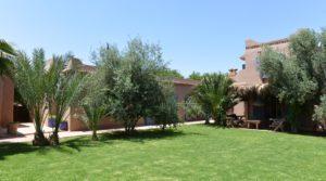 Magnifique maison de campagne de plein pied à 17 km de Marrakech. Bohémienne, beldi chic, possibilité d'extension