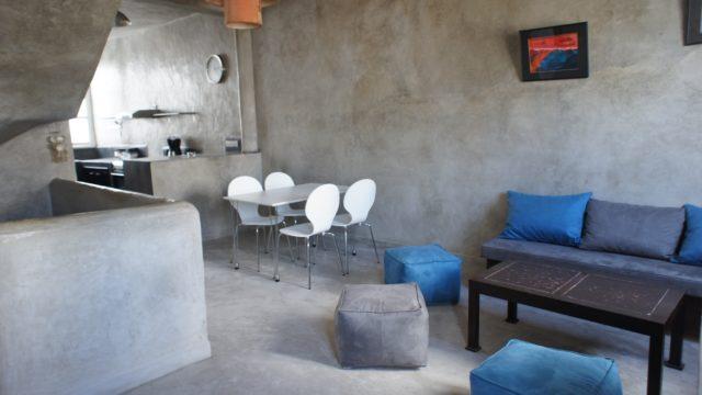 Magnifique pied à terre de 2 chambres dans la médina d'Essaouira. Très belles finitions, confort optimal pour passer des moments inoubliables et en votre absence, rentabiliser sans soucis cet petite merveille en location exclusive