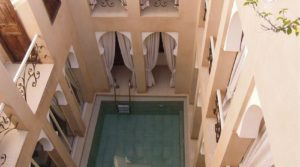 Good profitability for this guest house, located in one of the best district of the medina