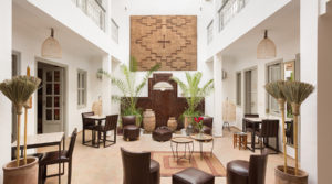 Refined, elegant, beautiful riad located in a great district