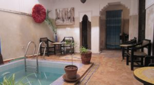 Charming little riad with rental yield
