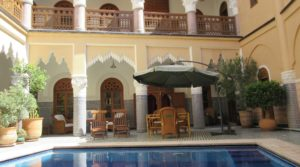 Five minutes from Jemaa El Fna square, exceptional private riad