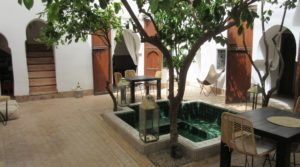 Authentic riad. Sober, refined, undeniable charm