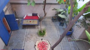 Authentic, magnificent riad full of charm located in an excellent district