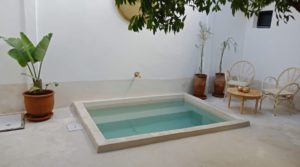 Bohemian chic, riad of 4 bedrooms, pool, 4 minutes from Jamaâ El Fna square