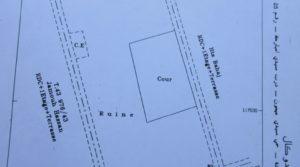 Terrain dans l'excellent quartier de Sidi Mimoune, titré et autorisations de construire